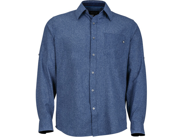 Marmot Windshear LS Shirt Men Vintage Navy